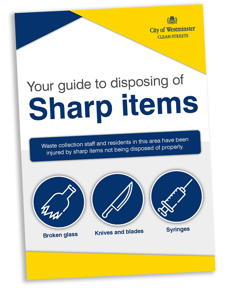 Sharp Items Front Cover