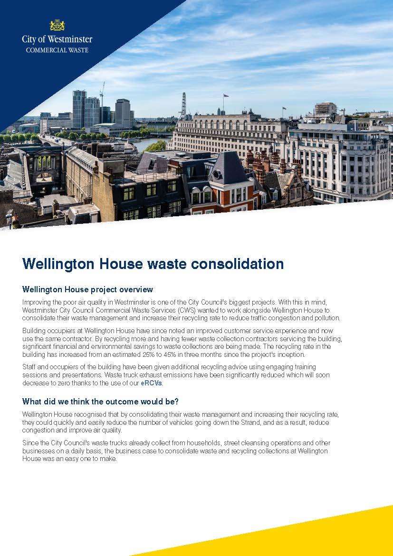 Wellington House Case Study - Page 1