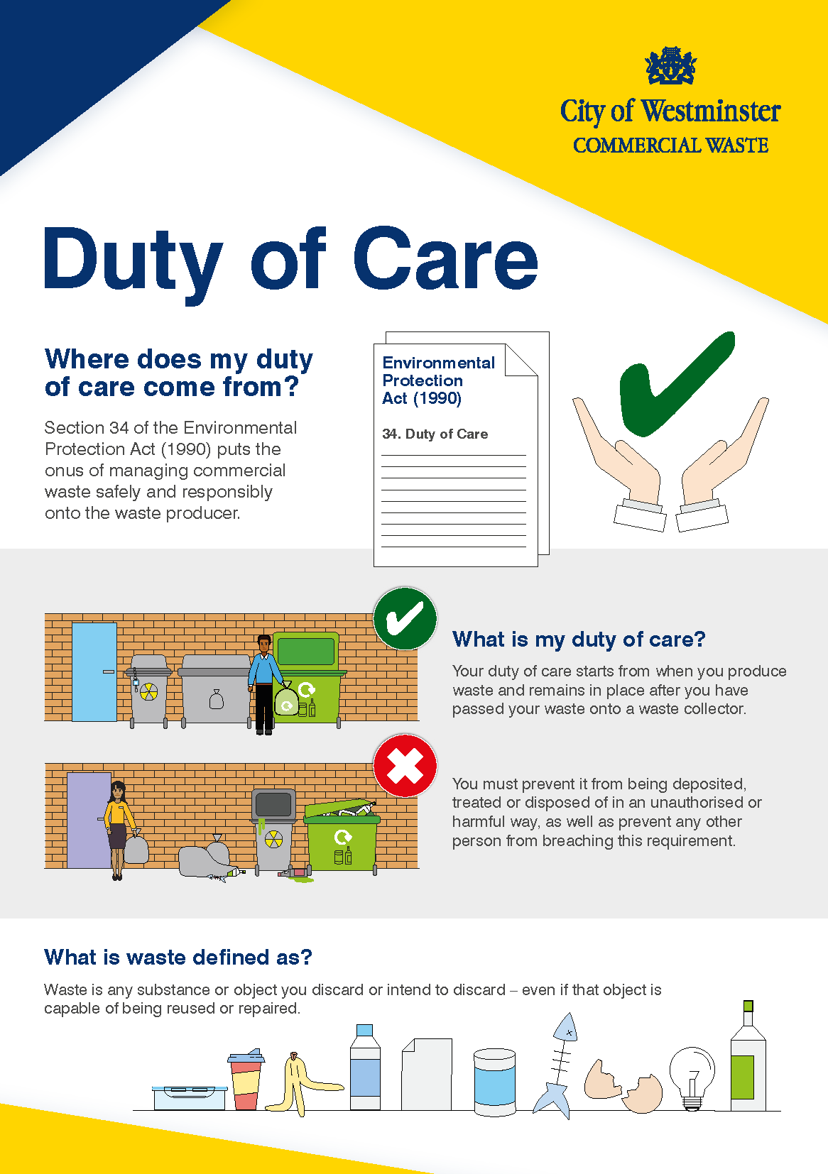 Westminster Duty of Care leaflet - Front cover_Page_1